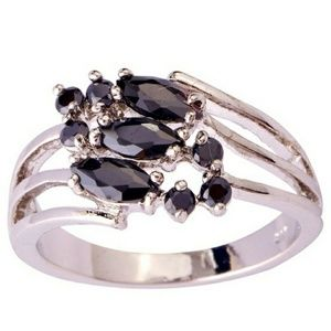 Jewelry - 925 Sterling Black Ring